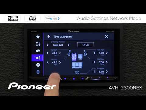 How To - Advanced Audio Settings In Network Mode On Pioneer AVH-EX In Dash Receivers 2018