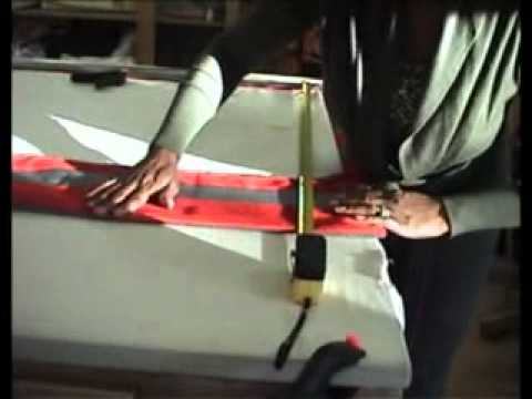 How To Make Roman Blinds Part 1
