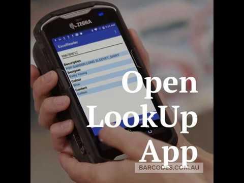 LookUp App Barcodes com au