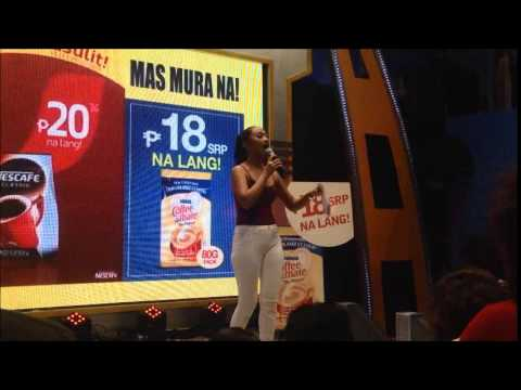 Abby Borja Hosting For Nescafe Classic And Nestle Coffeemate
