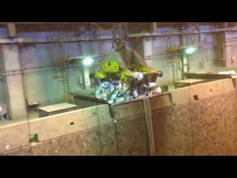 crane municipal waste in japan - waste to energy
