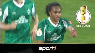 Traumdebüt! Top-Transfer Chong schießt Werder weiter: Jena - Bremen 0:2 | Highlights | DFB-Pokal |