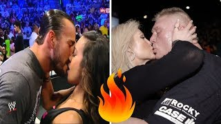 Top 10 WWE Superstars who married WWE Divas in real life | Wrestle Again