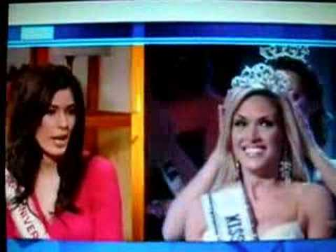 Miss Canada Speaks Out On Miss USA Tara Conner's Scandal