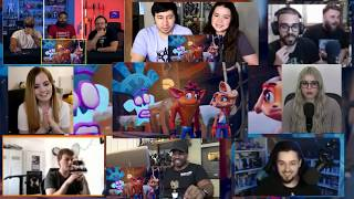 Crash Bandicoot 4: It's About Time Trailer | REACTIONS MASHUP