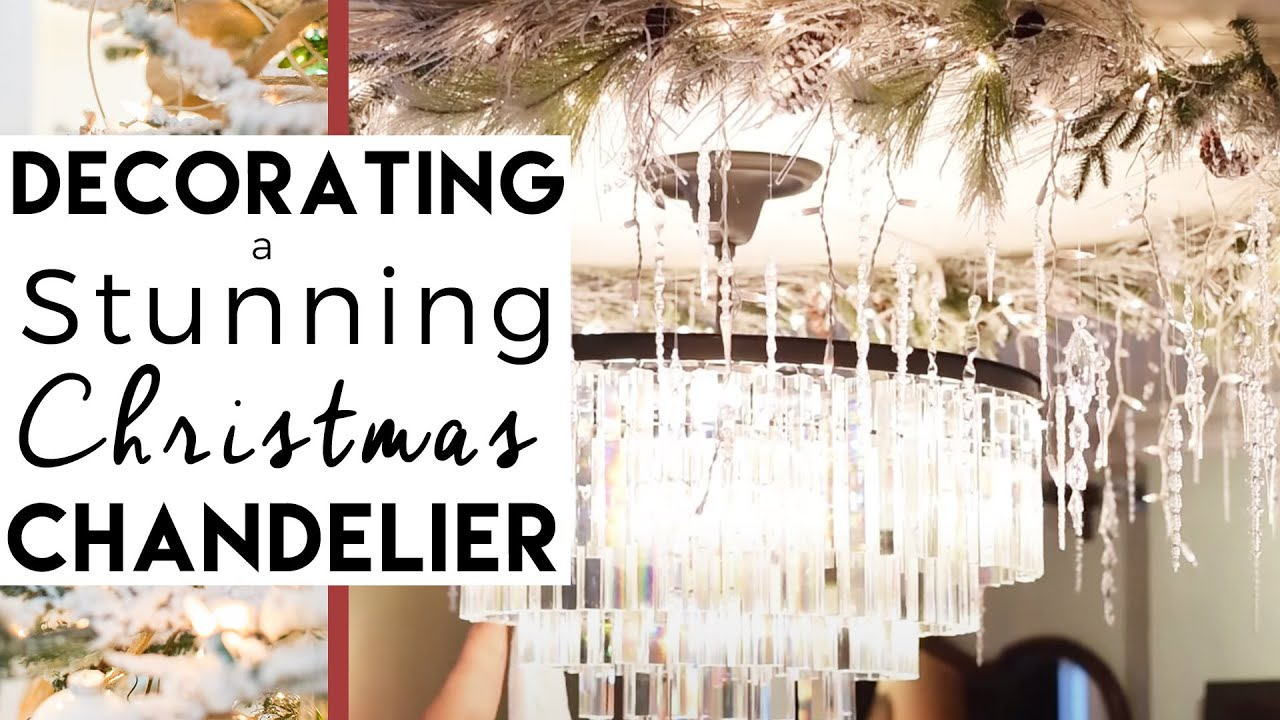 christmas decorations diy chandelier day 13 of 25 days of christmas - Christmas Chandelier Decorations