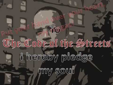 Ice-T - Code of the Streets Lyric Video