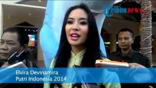 Putri Indonesia 2014 Ulang Tahun Bersama Anak Panti Asuhan
