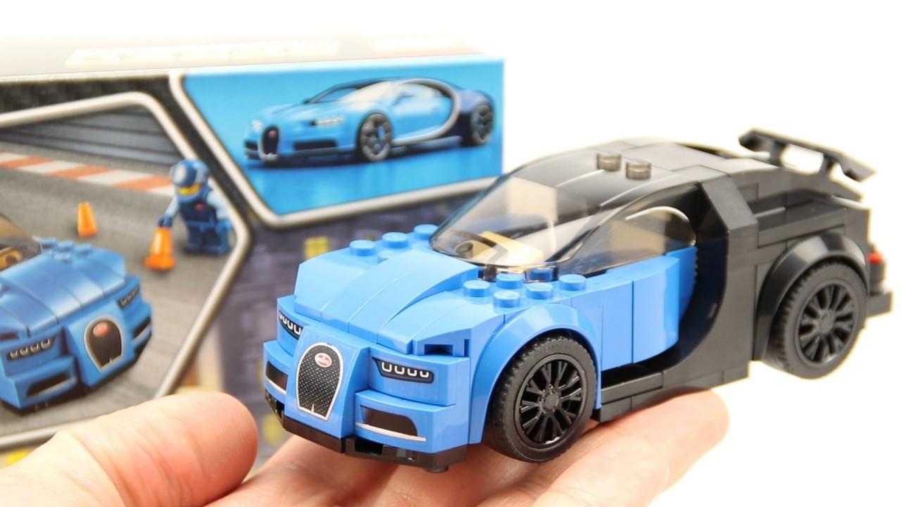 lego speed champions - 75878 bugatti chiron - recenzja i animacja