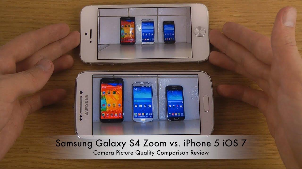 galaxy s4 vs iphone 5 camera