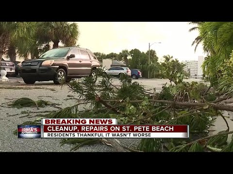 Cleanup, repairs on St. Pete Beach