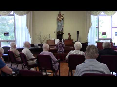 Amariah Condon - September Piano Performance for the Sisters of Saint Joseph