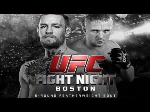 Conor McGregor vs Dennis Siver Full Fight UFC Fight Night Boston