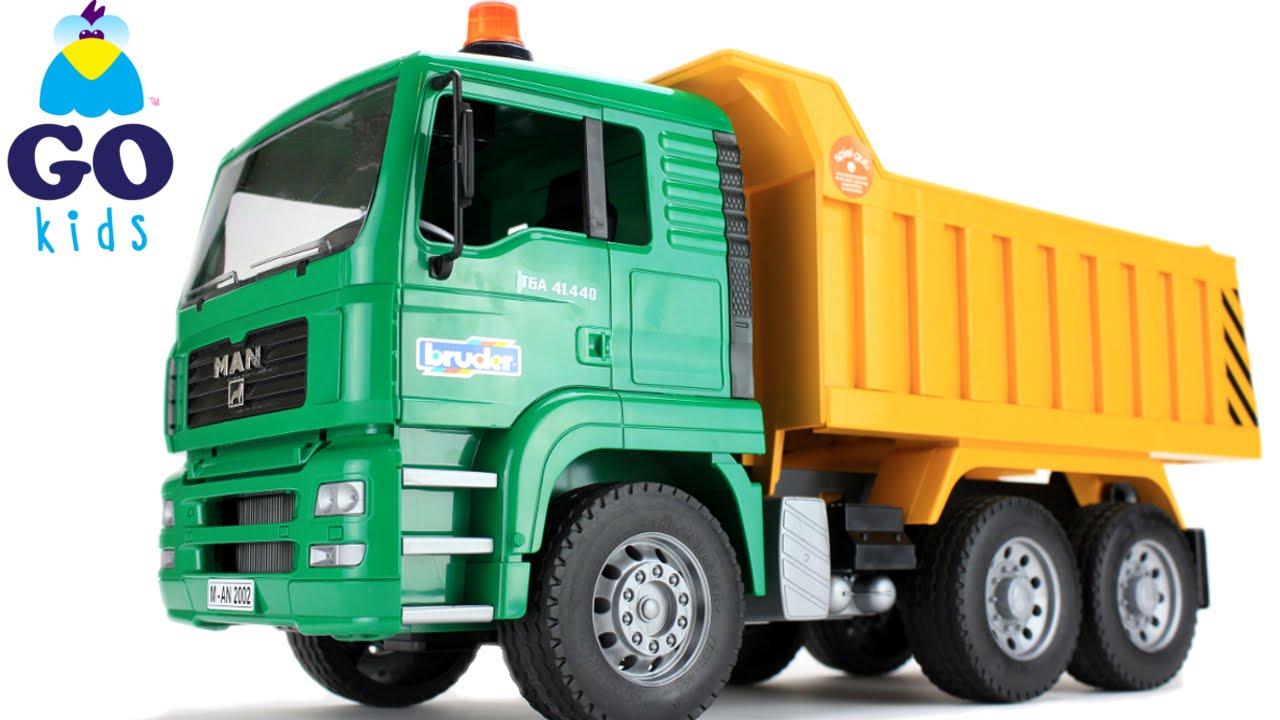 bingo bingo toy dump truck nursery rhyme trucks gokids - Toy Dump Trucks