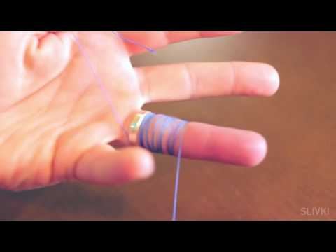 Лайфхак #23 Как легко снять кольцо с опухшего пальца