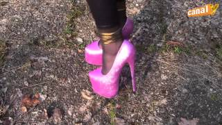 MY new shoes! High Heels Outfit of the Day 2014