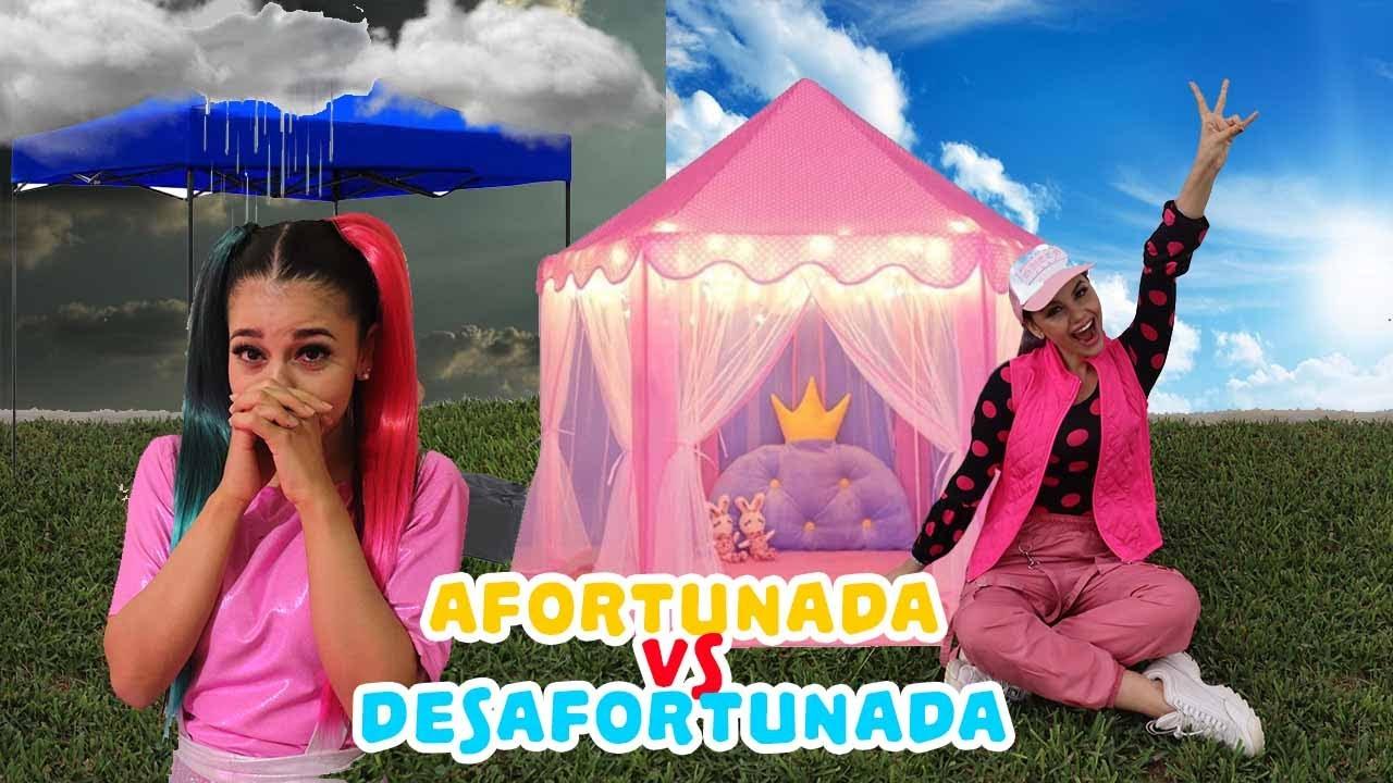 Chica Rica Vs Chica Pobre - Afortunada vs Desafortunada / Gaby y Gilda