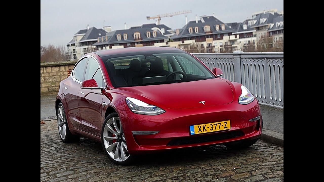 Tesla Model 3 >> Essai Tesla Model 3 Performance (2019) - YouTube