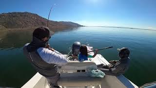 Socal winter fishing at local lakes Perris DVL