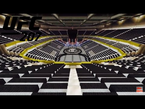 Ufc 207 Minecraft Arena T Mobile Arena