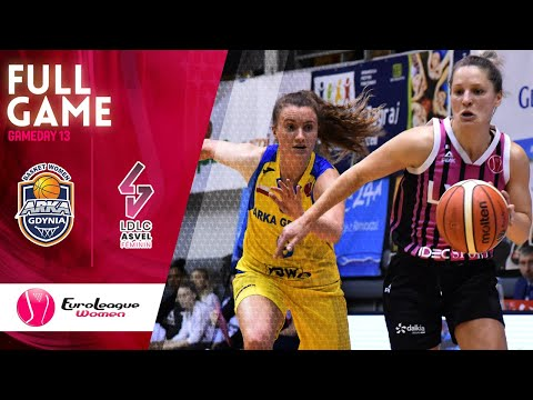 Arka Gdynia V LDLC ASVEL Feminin - Full Game  - EuroLeague Women 2019-20