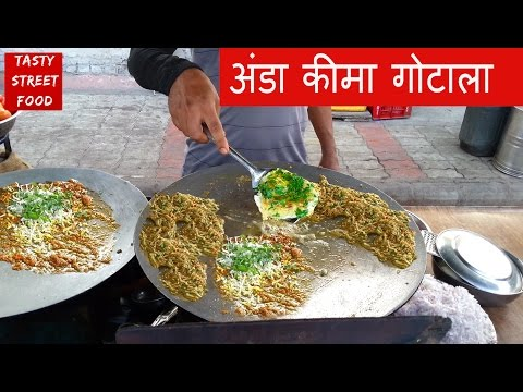 Anda Keema Ghotala - How to make ? Full  Recipe Video | Surat , Gujarat  | Indian Tasty Street Food