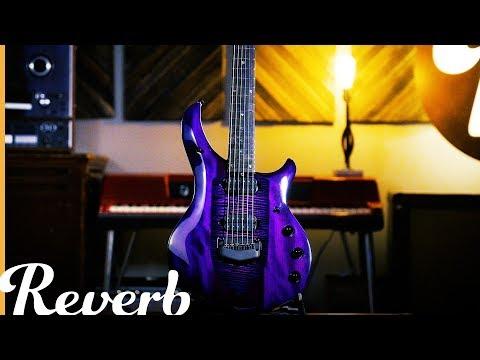 John Petrucci Majesty Monarchy Electric Guitar - Ernie Ball Music Man | Reverb Demo Video