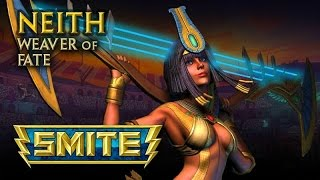 "SMITE: Neith, Jungle Gameplay - ""Experimental Neith"""