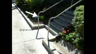 Architectural Stairway Handrail Design Solution - Building Safety