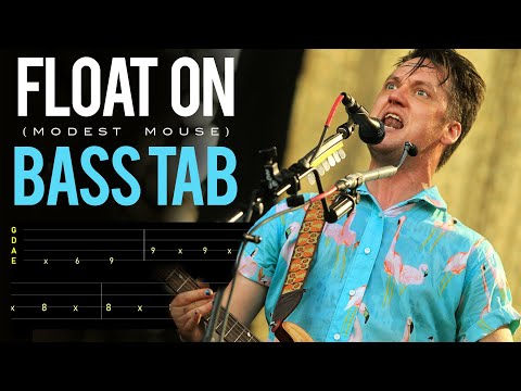 """""""Float On"""" Bass Tab & Tutorial 