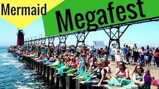 Mermaid World Guinness Record - Megafest South Haven