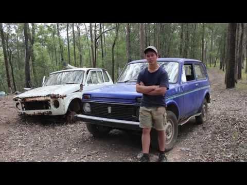 4wd Action Custom Knock Off - Lada Niva