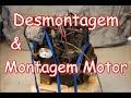 Desmontagem e Montagem COMPLETA MOTOR - Clube do Opala Bragança Pta - SP