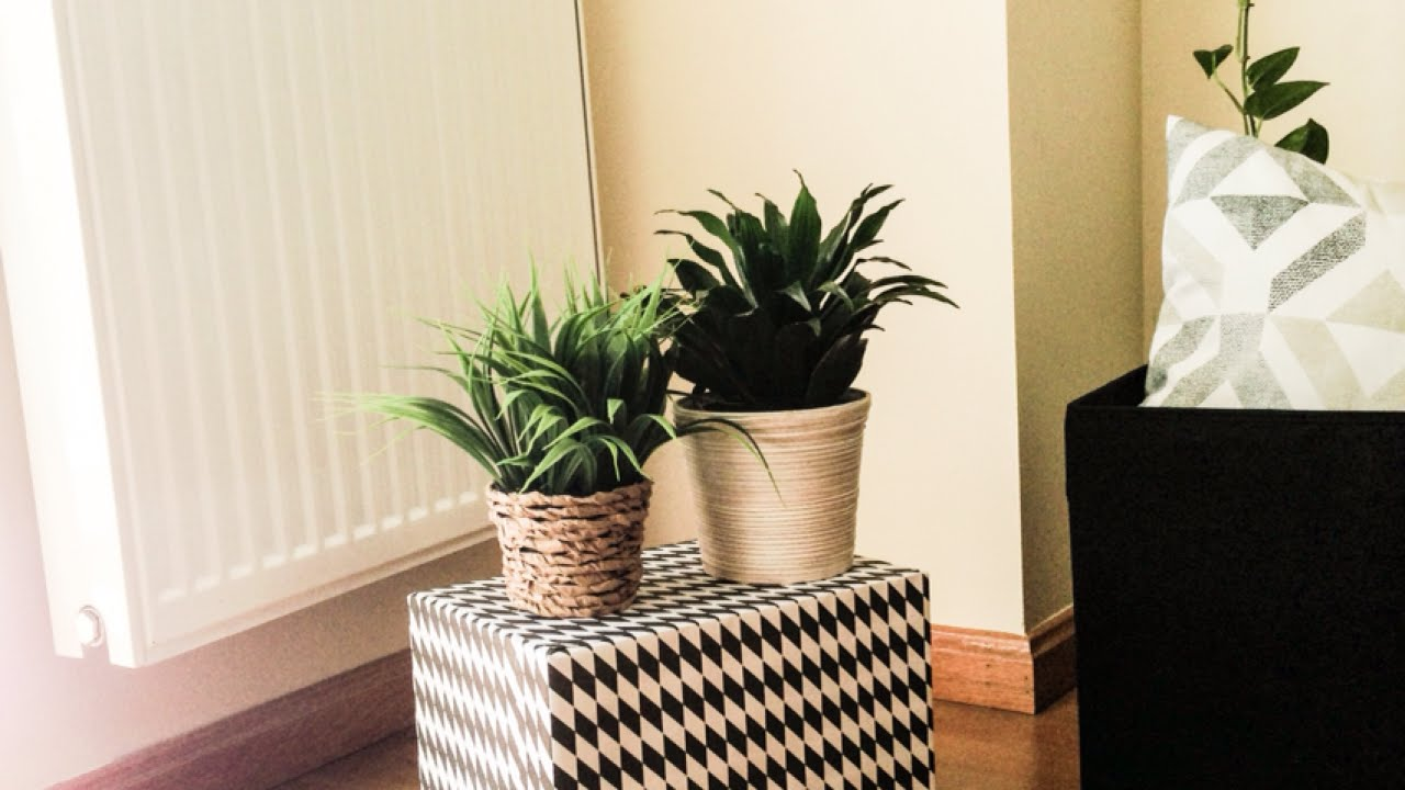 make a side table with two boxes (en español) - home