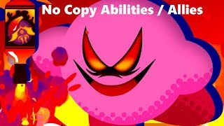 Kirby Star Allies - Final Boss Soul Melter - No Copy Abilities or Allies