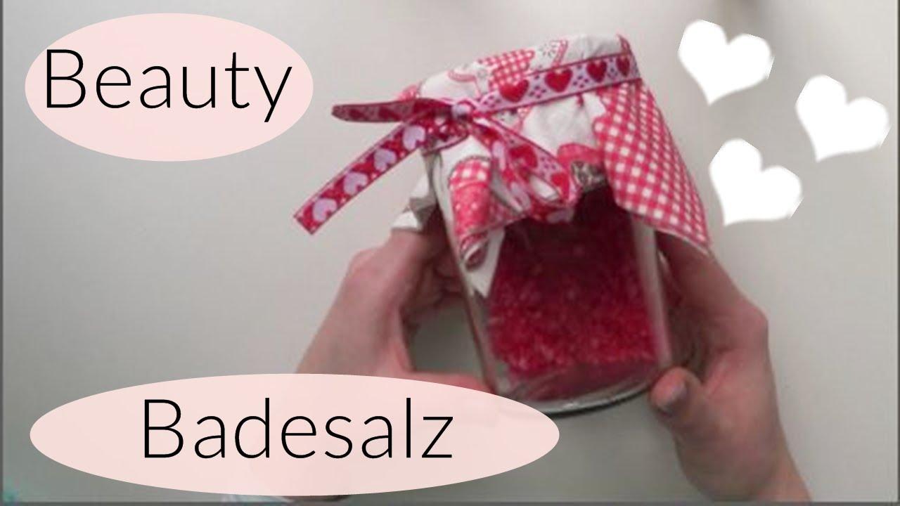 Diy beauty badesalz i last minute i muttertag i - Muttertagsgeschenke diy ...