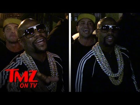 Floyd Mayweather Isn't Too Worried About Tyga After Fight At His Birthday | TMZ TV
