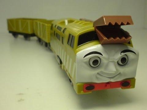 Diesel 10 23 thomas et ses amis train jouet 00911 fr youtube - Train thomas et ses amis ...