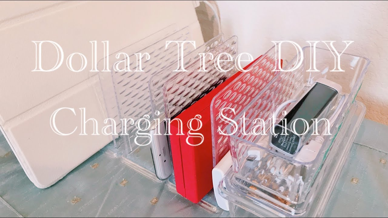 Dollar Tree Diy Charging Station And Organizer For Cell Phones Tablets And More Easy For 5 Youtube,What Color Matches Dark Green Clothes