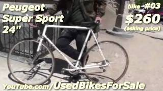 Used Bikes For Sale - Peugeot Super Sport 24