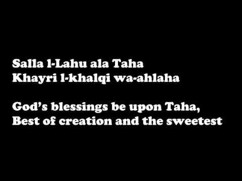 Sami Yusuf - Taha Lyrics (english translate)