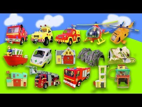 1 Stunde Spaß Mit Feuerwehrmann Sam: Feuerwehrautos, Spielzeuge, Wallaby 2 Compilation Für Kinder