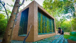 Building the Most Stunning Bamboo Jungle House by Ancient Skills