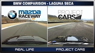 Project CARS vs Real Life - BMW @ Laguna Seca / What is Real? thumbnail