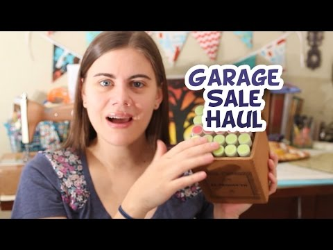 Garage sale and thrift store haul youtube
