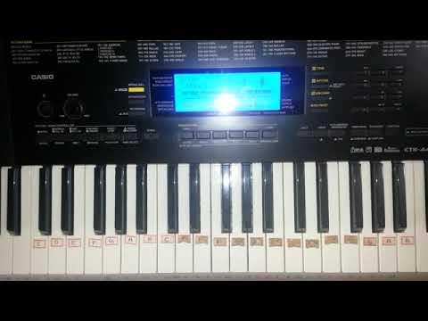 Kalla chandamama love kushi keyboard