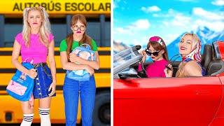 TÚ DE NIÑO VS. TÚ EN LA SECUNDARIA || Las situaciones escolares más graciosas por 123 GO!