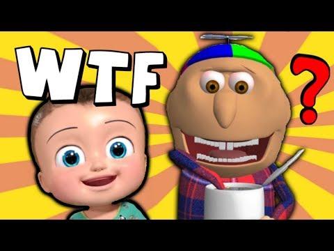 Johny Johny Yes Papa - The WTF YouTube Kids Cartoon