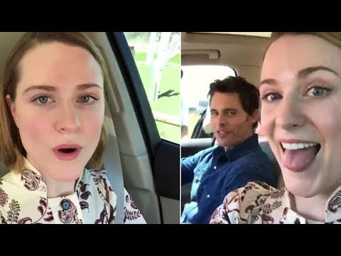 'Westworld' Stars Evan Rachel & James Marsden Kick Off 'Carpool Karaoke'