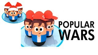 Popular Wars - Gameplay Trailer (Android IOS)